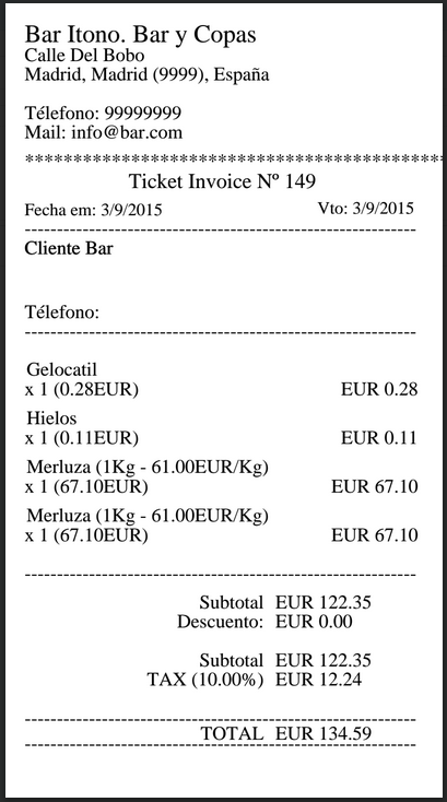 ticket de compra